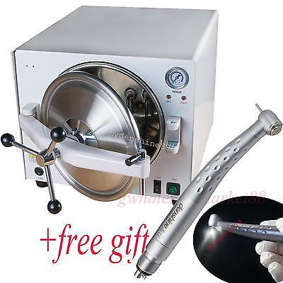 A+ Dental Medical 18L stainless steel autoclave water Steam Pressure Sterilizer