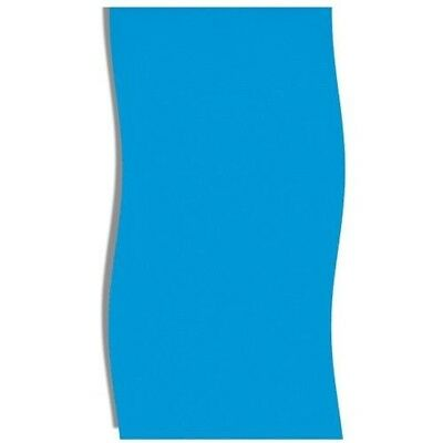 "Swimline LI162620 16' x 26' x 48/52"" Solid Blue Above Ground Liner - Oval"