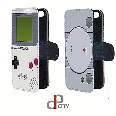 Playstation Gameboy vintage retro fPhone case  protection cover flip wallet gift