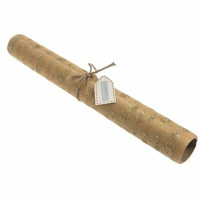 Groves Gold Or Silver Glitter Spot Tulle Fabric Roll 40 cm x 2 m Wedding Decor