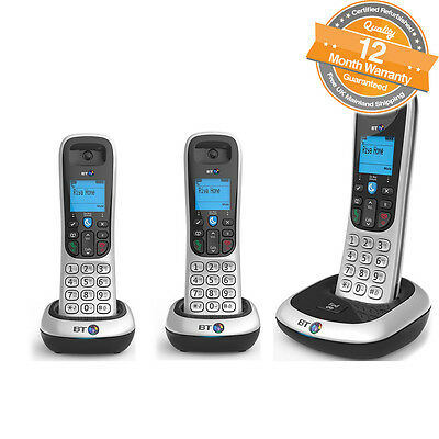 BT 2200 Trio Digital Cordless Telephones With Nuisance Call Blocker