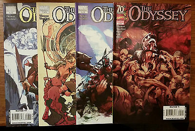 Lot of 4 The Odyssey Marvel Comics Issues 5 6 7 8