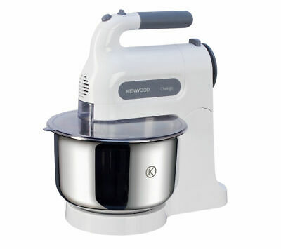 Kenwood HM680 Chefette H& Mixer with Bowl 350W 5 Speed levels White & Grey