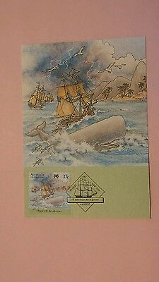 Australia First Day Cover 1987 The First Fleet Card #9