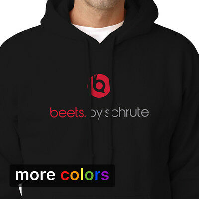 BEETS BY SCHRUTE Adult Hoodie, Dwight The Office Apparel Beet Farm Dr Dre