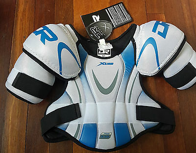 NEW DR X10 XLR8 Ice Hockey Shoulder Pads Junior Small Medium Large FREE POSTAGE