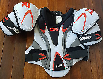 NEW DR X30 XLR8 Ice Hockey Shoulder Pads Junior Small Medium Large FREE POSTAGE