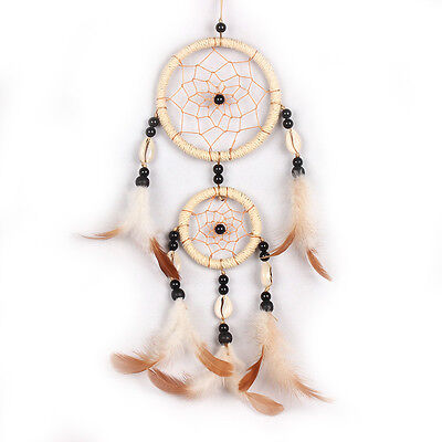 Dream Catcher With feather Shell Wall Car Hanging Decoration Ornament Gift New