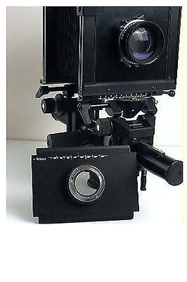 Moveable Camera Adapter For Nikon To Linhof Sinar 4x5 Camera Accessory