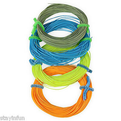 FL001 30.5M Weight Forward Floating Fly Fishing String LINE NUMBER 2.0