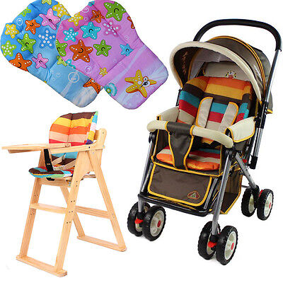 Baby Stroller Pram Cushion Cart Seat Pushchair Cotton Thick Starfish Mat Liner