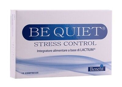 Integratore alimentare BE QUIET STRESS CONTROL 15 compresse Benefit