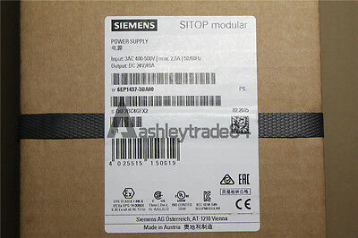 NEW IN BOX Siemens SITOP power 6EP1 437-3BA00 6EP1437-3BA00 40A