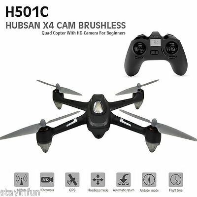 X4 Hubsan H501C Brushless GPS RC Quadcopter with 1080P HD Camera