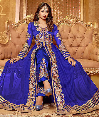 Indian Pakistani Ethnic Anarkali Salwar Kameez Designer Suit Bollywood Dress