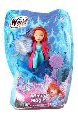 Winx club Winter Magic Doll Bloom GPH01942 new wings with magic snow effect