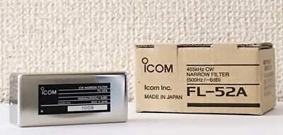 NEW ICOM FL-52A 455KHz CW NARROW FILTER FOR IC-775/756/760 from JAPAN