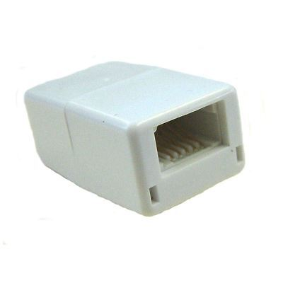 Solwise Couplers BT-Plug to BT-Plug BT Lead Connector White Brand New