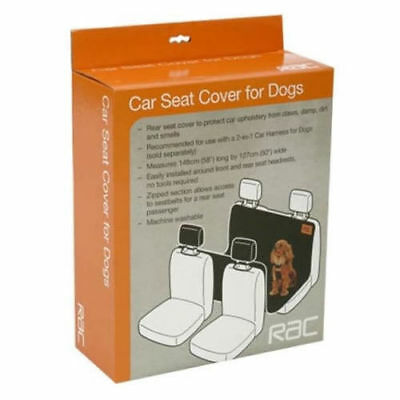 RAC Car Rear Seat Cover for Dogs - Washable & Durable