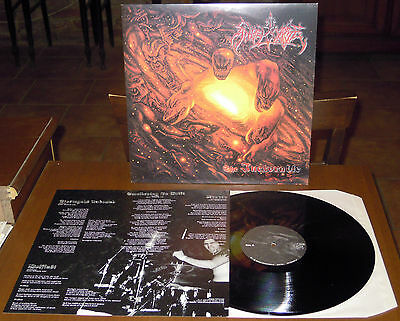 LP ANGELCORPSE The inexorable (Osmose 99 FRANCE) 1st ltd ps black death metal M!