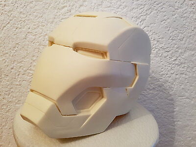 Iron Man Mk. 42 Resin Helm Helmet lifesize raw