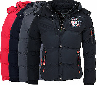 Geographical Norway Venise Mens Parka Winter Jacket (Long Sleeve) - CLEARANCE