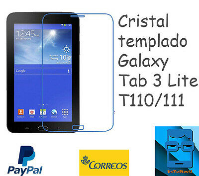 "Cristal templado tablet Galaxy Tab 3 Lite 7"" - T110/111/116 tempered glass"