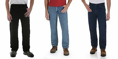 New Rustler by Wrangler Men's Regular Fit Straight-Leg Jeans All Sizes