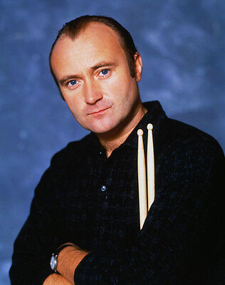 Phil Collins UNSIGNED photo - D2178 - Drummer & lead singer for Genesis