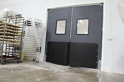 Retail Supermarket Grocery Warehouse Traffic Doors  4' X 7' (Double Panel)