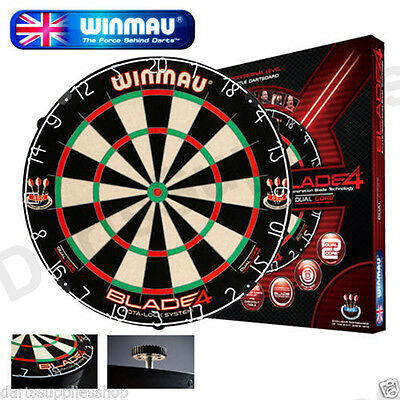 Blade 4 Dual Core Rota Lock BDO Endorsed Dartboard by Winmau