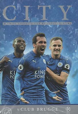 2016/17 - LEICESTER CITY v CLUB BRUGGE (CHAMPIONS LEAGUE - 22nd November 2016)