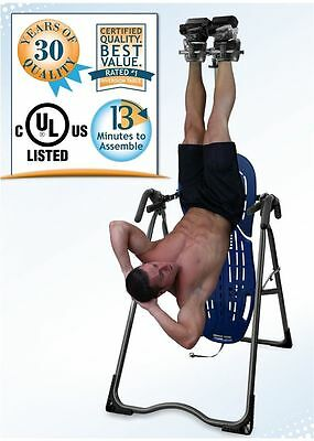 Inversion Table Machine Hangs Ups Abs Core Training Fitness Workout Exercise