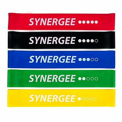 Synergee Mini Band Resistance Loop Exercise (SF5-FBA2-CA) by iheartsynergee CXX