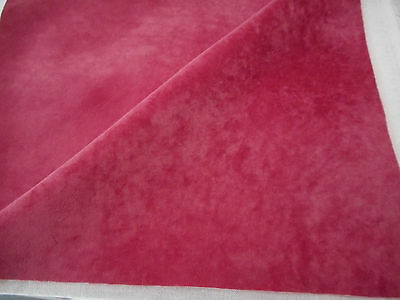 "14""x10"" Mini Bear/Paw Pad Fabric - CERISE"