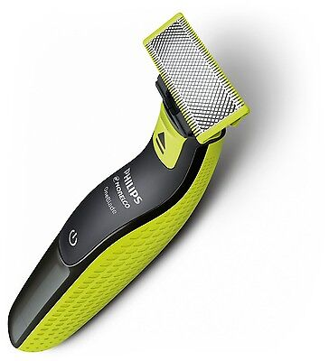 NEW Philips Norelco OneBlade Hybrid Electric Trimmer and Shaver QP2520/90 Men's