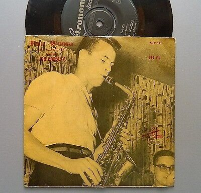 "PHIL WOODS original Swedish EP 7"" with Jon Eardley"