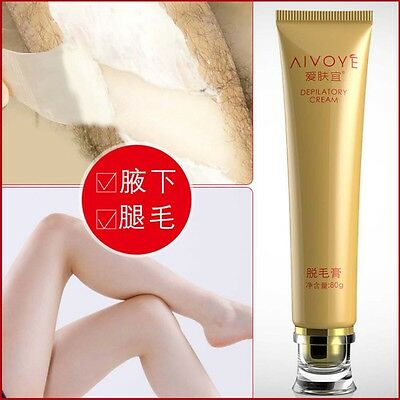 AIVOYE AFY Permanent Stop Hair Removal Cream Inhibitor Depilatory Cream 80g