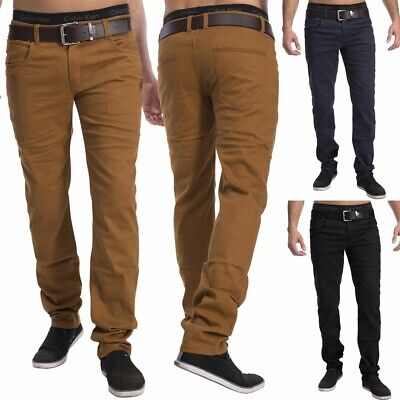 Herren Chino Hose DECATUR 5-Pocket Jeans Slim Fit Stoffhose stretch High Quality