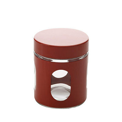 NEW Maxwell & Williams Cosmopolitan Colours Canister 600ml Red