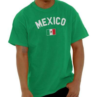 Mexico Flag World Cup Soccer Mexican National Flag Pride T-Shirt Tee