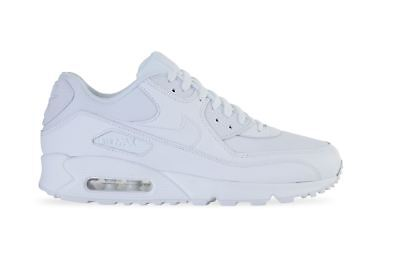 newest 5faed 1bfde Nike Air Max 90 Essential White Mens 537384 111 Uk 7-11
