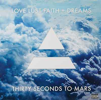 "30 Seconds to Mars-Love Lust Faith + Dreams  (US IMPORT)  Vinyl / 12"" Album NEW"