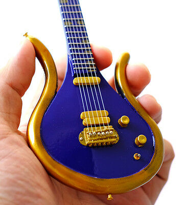 Miniature Guitar Prince Last Guitar Purple Gold Prince Symbol Awesome