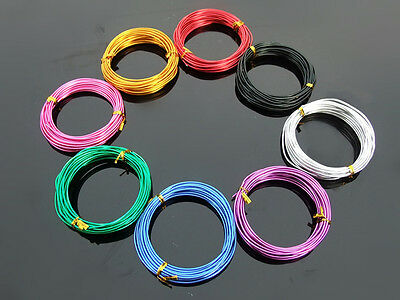 1mm color 5m aluminum wire DIY handmade soft aluminum wire Metal cable