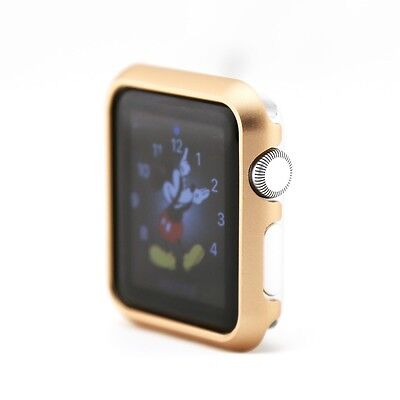 Gold  For Apple Watch Case Protector Cover iWatch 42mm Protective Skin Bumpe