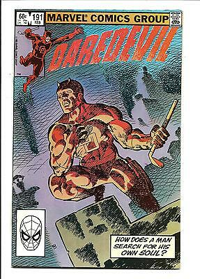 Daredevil # 191 (Last Miller, Feb 1983), Nm