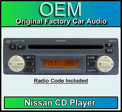 Nissan Micra K12 Cd Player Nissan Car Stereo Grey With Radio Code