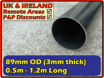 Mild Steel Round Tube (pipe,metal post,pole)| 88.9mm (< 90mm) 3.5"