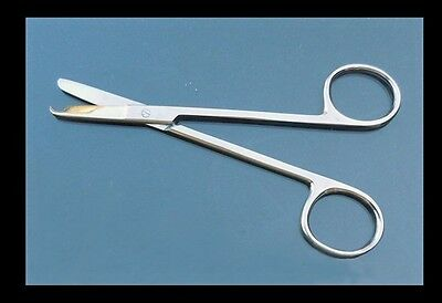 High Quality Stainless Steel Suture Stitch Scissors Straight Tip 4.5""